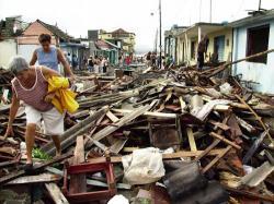 Zerstörung durch Hurrikan Ike in Cuba im September 2008 - juventudrebelde.cu